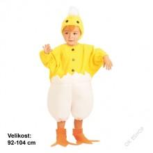 Dětský karnevalový kostým KAČENKA 92 - 104cm ( 3 - 4 roky )